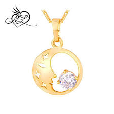 sailor moon necklace hollow star with
