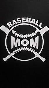 Amazon Com Chase Grace Studio Baseball Mom Sports Mom Vinyl Decal Sticker White Cars Trucks Vans Suv Laptops Wall Art 5 5 X 5 Cgs682 Automotive