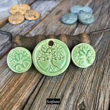 tree of life pendant earring findings