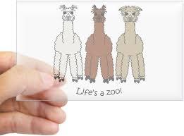Amazon Com Cafepress Alpaca Rectangle Bumper Sticker Car Decal Home Kitchen