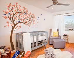 Amazon Com Large Tree Wall Decal Nursery Tree Wall Sticker Kids Room Wall Art Decor Wall Mural 032r Handmade