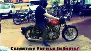 carberry enfield in india you