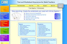 top 6 algebra i worksheets student