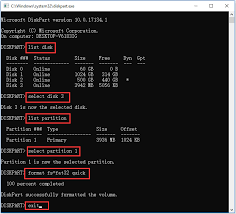 fix corrupted sd card re data