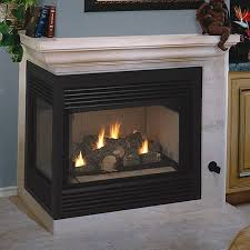 direct vent left sided corner fireplace