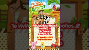 Video Invitacion De La Granja Zenon Youtube