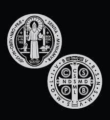 Saint Benedict Medal Car Decals