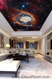 Nebula Star Cirble Universe Wallpaper Wall Decals Wall Art Print Busin Idecoroom