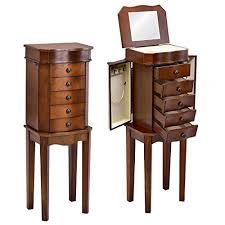 giantex jewelry armoire chest cabinet