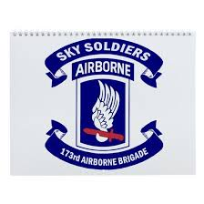 173rd Airborne Brigade Wall Calendar By Best Military And Space Products Cafepress