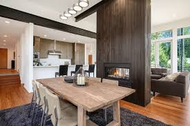 these 15 double sided fireplaces
