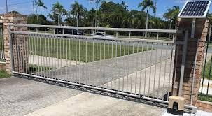 gate force diy sliding gate motors