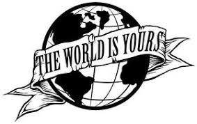 23 Scarface The World Is Yours Globe Die Cut Vinyl Decal Sticker Wall Window Ebay