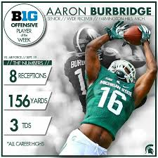 Aaron Burbridge   Msu spartans, Michigan state spartans, Michigan ...
