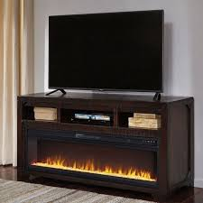 rogness tv stand w fireplace by