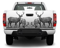 Product Deer Hunting Animal Tailgate Decal Sticker Wrap Pick Up Truck Suv Car