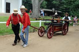 "Fire & Ice"" Fireman's Muster at Old Sturbridge Village July 17 ..."