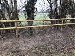 Post And Rail Job For A Regular Client Weald Boundary Management Fencing And Hedging Specialists Facebook