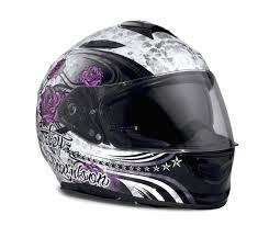 Harley Davidson Unisex Landscape Airfit X03 Full Face Helmet Sun Shield Custom Graphics 98327 17vx