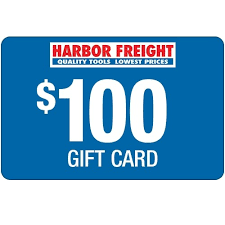 100 Harbor Freight Gift Card