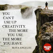 you can t use up creativity the more you use the more you have