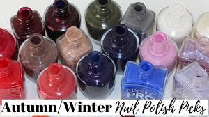 top 10 autumn winter 2018 nail polish