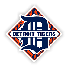 Detroit Tigers B Vinyl Die Cut Decal 4 Sizes 8460