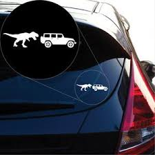 T Rex Jeep Decal Sticker For Car Window Laptop And More 1005 Yoonek Graphics