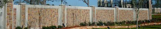Concrete Fence Fencing Concrete Forms Stonetree