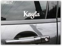 Custom Name Lettering For Your Car