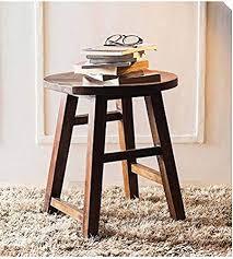 shilpi handicrafts solid wooden stool