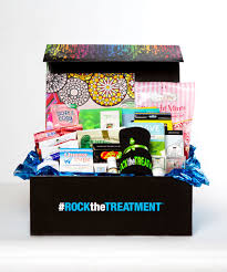 chemo baskets rock the treatment