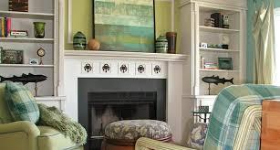 fireplace bookcase decorating ideas
