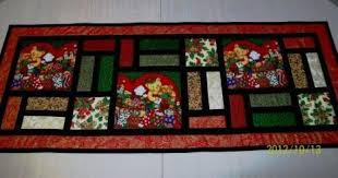 stained glass table runner