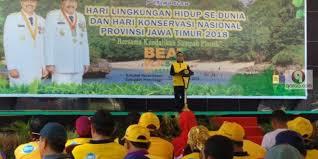 hari lingkungan hidup sedunia dan hari konservasi nasional digelar