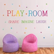 Playroom Share Imagine Laugh Wall Decal Buy Online In China At Desertcart