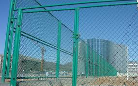 Sylodium Vinyl Coated Chain Link Fence