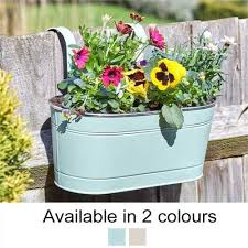 Smart Garden 12in Fence Balcony Hanging Pot Free Uk Delivery