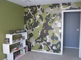 Camouflage Wallpaper Camo Green Feature Wall Kids Bedroom Wallpaper New Home Garden Wallpaper Rolls Sheets Ayianapatriathlon Com