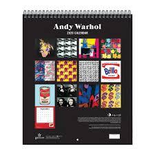 andy warhol wall calendar galison