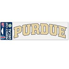 Purdue Boilermakers 6 Wide Premium Vinyl Decal Bumper Sticker Full Color Ncaa Sports Mem Cards Fan Shop College Ncaa Dr Lindner Ipn Co Il
