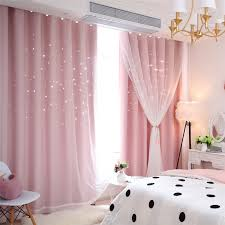 Fresh Max Blackout Curtain Hollow Star Curtain With Sheer Curtain Kids Room Curtain One Panel Kids Room Curtains Curtains Living Room Curtains Living