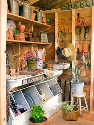 storage ideas for your potting shed