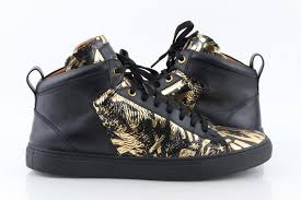 hedo leather high top sneakers