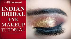 indian bridal makeup eye makeup