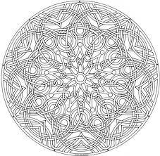Celtic Design Mandala Kleurplaten Kleurplaten