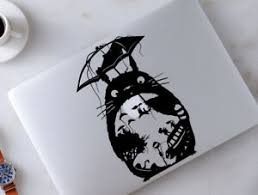 My Neighbor Totoro Studio Ghibli Macbook Decal Laptop Car Wall Vinyl Sticker 77 Ebay