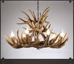 15 cast antler chandelier 9 6 ceiling