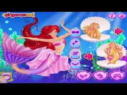 mermaid family dress up games