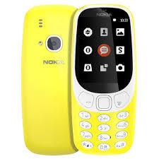 Nokia 3110 2.4 Inch Mini Phone Yellow